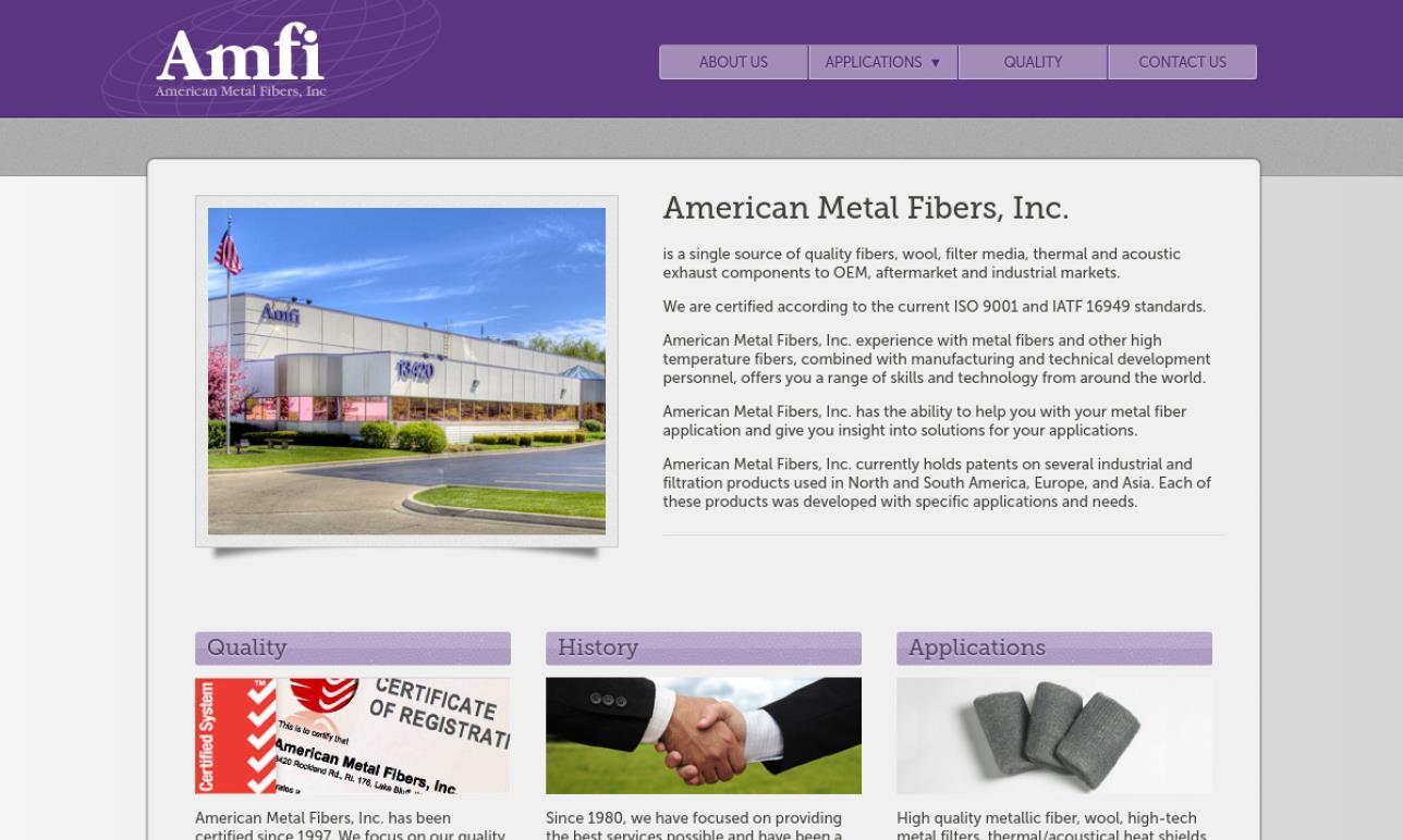 American Metal Fibers, Inc.