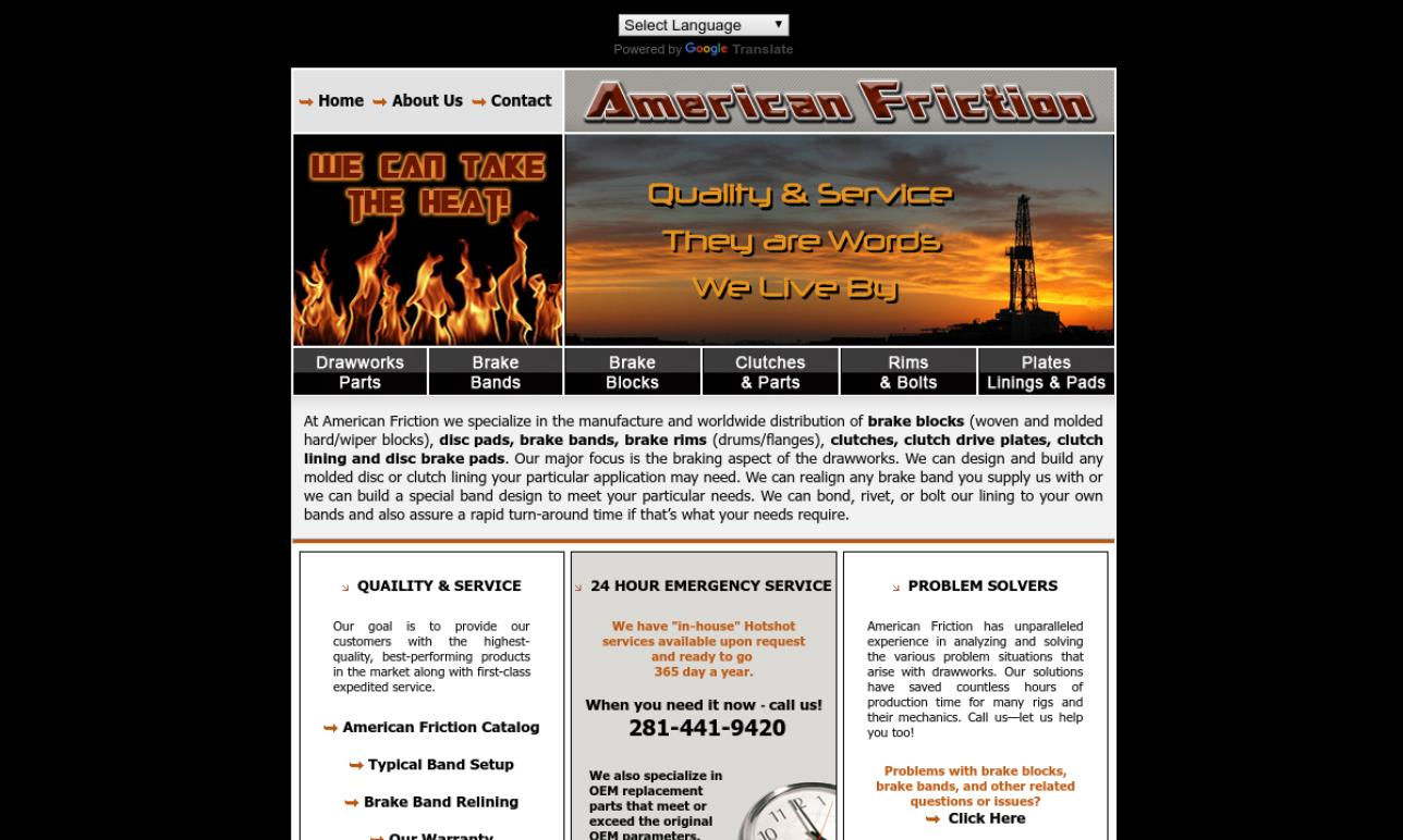 American Friction