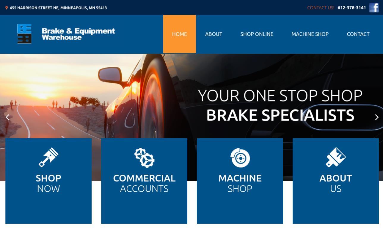 Brake & Equipment Warehouse