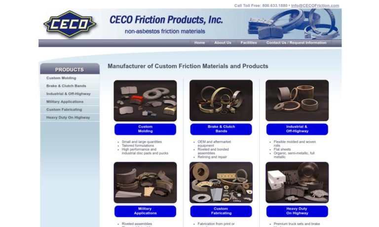 CECO Friction Products, Inc.