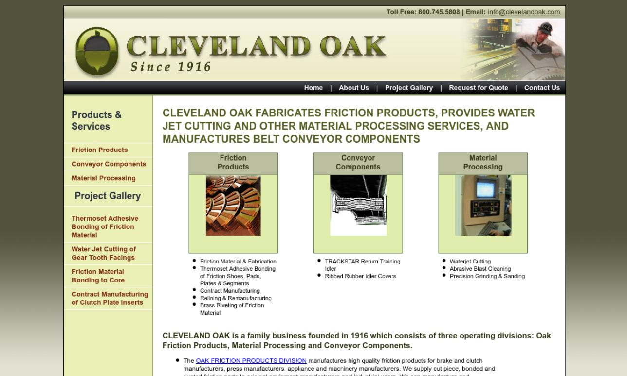 Cleveland Oak