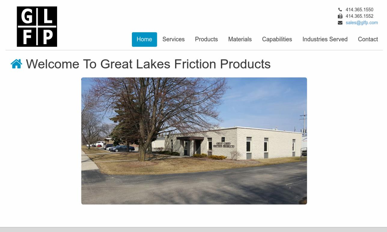 Great Lakes Friction Products, Inc.