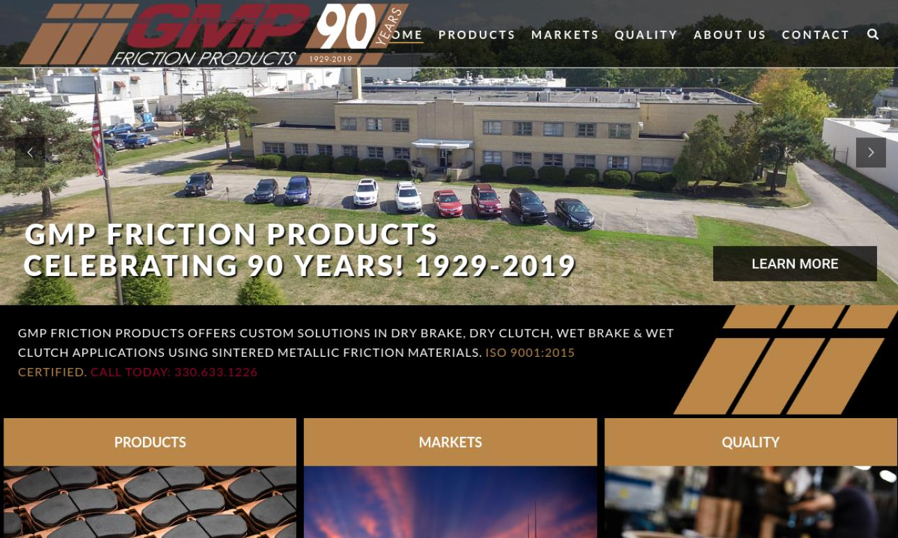GMP Friction Products