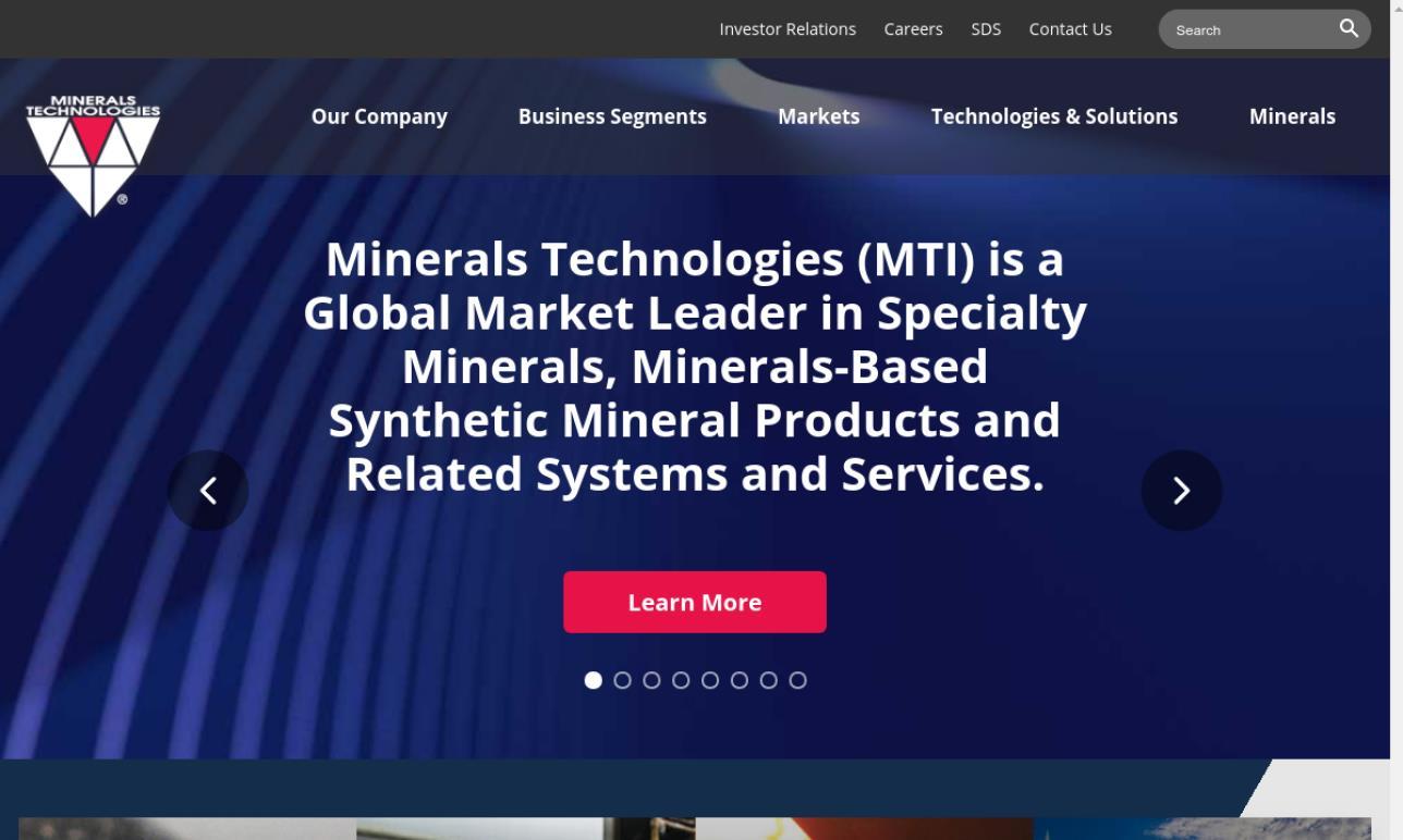 MINTEQ® International -  A Mineral Technologies Company