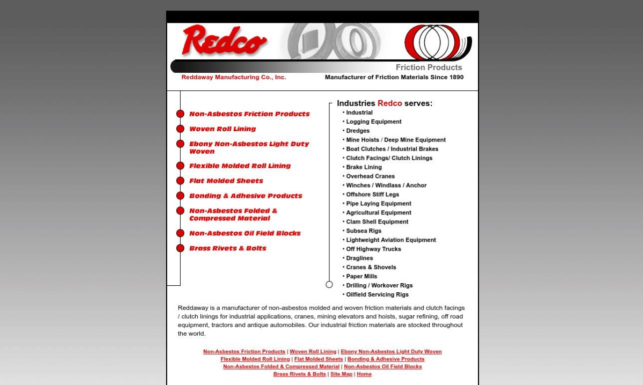 Reddaway Manufacturing Company, Inc.